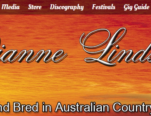 Country Music Legend Dianne Lindsay's Web Site Done